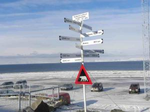 Svalbard is convenient to everywhere